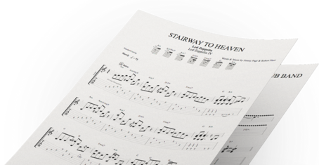 Tablatures mySongBook